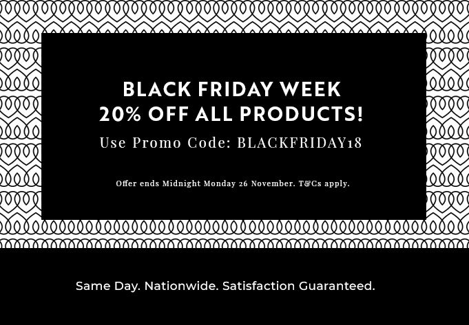 Black Friday Week 20% off all products!