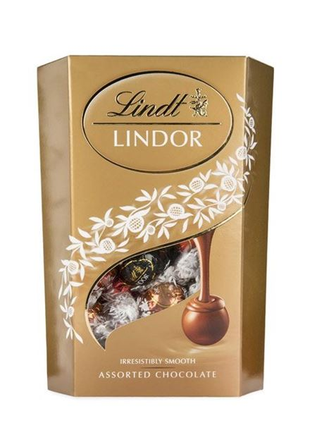 Chocolates and Sweets: Lindor Cornet Milk Assorted