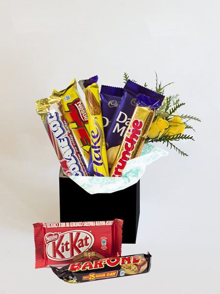 Snack & Gift Hampers: Chocolate Box for Him