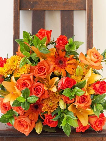 Bouquets: The Orange Bouquet