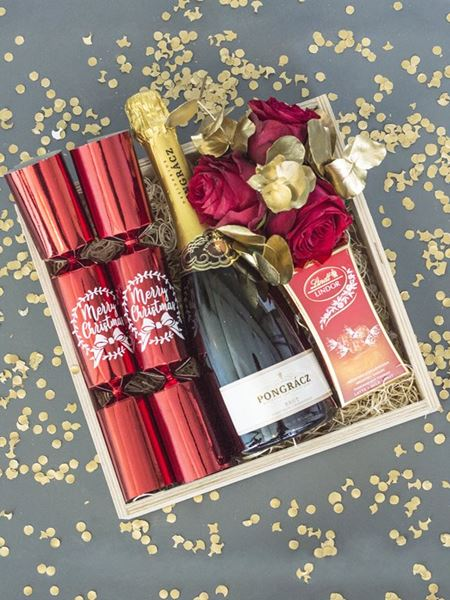 Festive Season: Bubbly Christmas Gift Box
