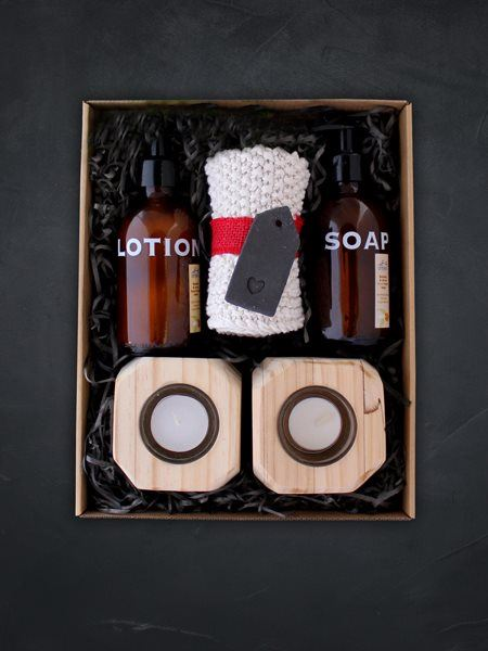 Snack & Gift Hampers: Anti Bacterial Bathroom Bliss