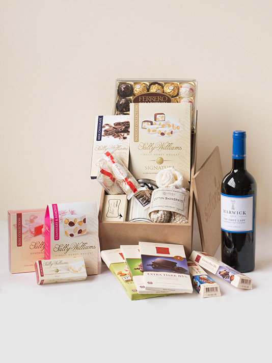 The perfect luxury gift box for her sa florist for Luxury gift ideas for her