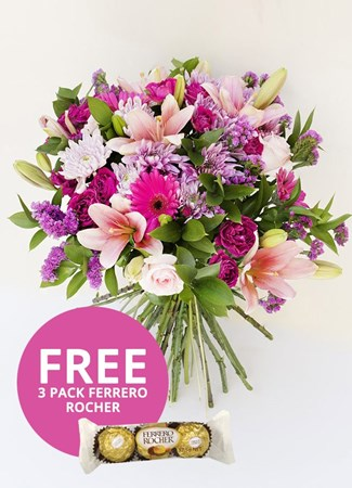 Bouquets: Marvellous Magnificent  with Free Ferrero Rocher